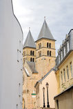 abbey echternach Arkivfoto