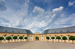 Abbey Echternach, of Luxembourg. With a beautiful sky Royalty Free Stock Photo