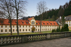 The abbey of Ettal Stock Photo