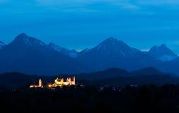 Abbey för St. Mangs, Fussen, Tyskland Royaltyfria Foton