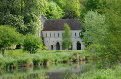 The abbey of Fontaine Guerard in Radepont Stock Images
