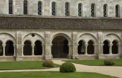 Abbey of Fontenay Stock Photos