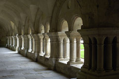 Abbey of Fontenay Stock Photography