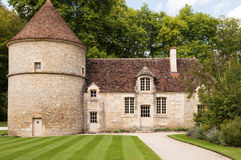 The Abbey at Fontenay Stock Image