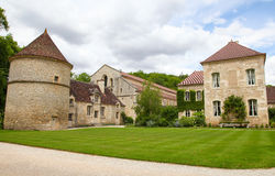 Abbey of Fontenay Royalty Free Stock Images