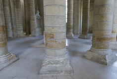 Abbey of Fontevraud Stock Images