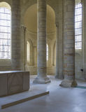 Abbey of Fontevraud Stock Photography