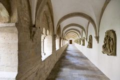Abbey footpath Royalty Free Stock Images