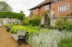 Abbey Gardens Abingdon Royaltyfri Fotografi