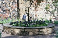Abbey Gardens av begraver St Edmunds i suffolken Fotografering för Bildbyråer