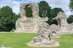 Abbey Gardens av begraver St Edmunds i suffolken Arkivbild