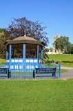 Abbey Gardens bandstand, Evesham. Royalty Free Stock Photography
