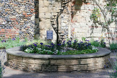 Abbey Gardens de St Edmunds do enterro no Suffolk Imagem de Stock
