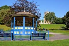 Abbey Gardens estrad, Evesham Royaltyfria Bilder