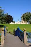 Abbey Gardens, Evesham. Stock Photos