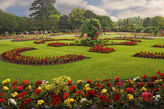 Abbey Gardens Royalty Free Stock Photo