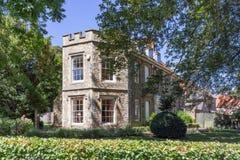 Abbey Gardens van Bury St Edmunds in Suffolk Royalty-vrije Stock Foto's