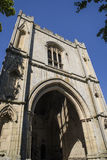 Abbey Gate begraver in St Edmunds Arkivbilder