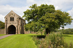 Abbey gatehouse Royalty Free Stock Photos