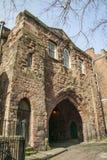 Abbey Gateway, Chester England Großbritannien Stockfotos