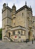 Abbey Gateway- oder Abtgatehouse Lizenzfreie Stockbilder