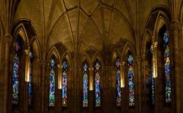 Abbey, Glass, Religion Royalty Free Stock Images
