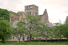 Abbey of Hambye (France) Stock Photos