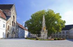 Abbey Heiligenkreuz cisterciense Foto de archivo