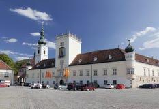 Abbey Heiligenkreuz cisterciense en Austria Foto de archivo