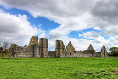 Abbey in Ireland. Stock Photo