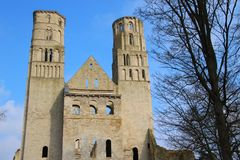 Abbey of Jumieges in Normandie - France Stock Image