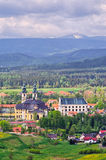 Abbey in Krzesz�w - Lower Silesia, Poland Royalty Free Stock Image