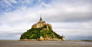 abbey le michel montsaint Royaltyfria Bilder