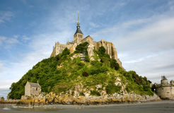 Abbey Le Mont Saint Michel Stock Photos