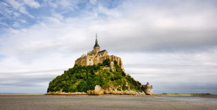 Abbey Le Mont Saint Michel Royalty Free Stock Images