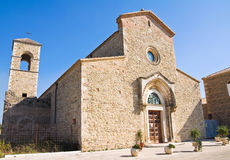 Abbey of Madonna del Casale. Pisticci. Basilicata. Italy. Royalty Free Stock Images