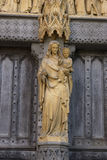 Abbey Madonna1 stock photo