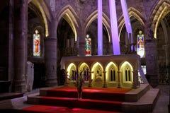 Abbey of Marcilhac sur Célé Stock Images
