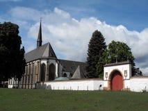 Abbey Mariwald in Duitsland Stock Fotografie