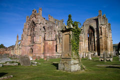abbey melrose стоковое фото