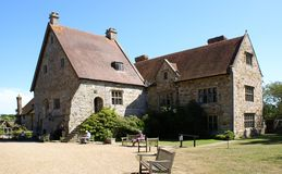 Abbey -Michelham Priory. Abbey inside the grounds, Michelham Priory, east Sussex Stock Images