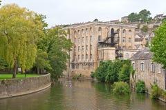 Abbey Mill at Bradford on Avon stock photo