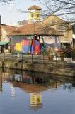 Abbey Mills em Merton, Londres sul foto de stock royalty free