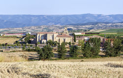 Abbey  monastery in Canas,La Rioja Royalty Free Stock Image