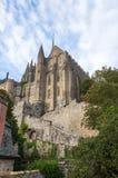 Abbey Mont Saint Michel Royaltyfri Foto