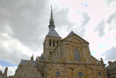Abbey of Mont Saint Michel, Normandy, France Royalty Free Stock Image