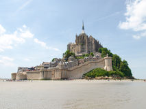 Abbey of Mont St. Michel Royalty Free Stock Image