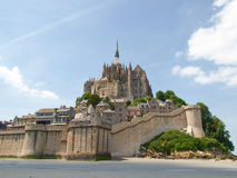 Abbey of Mont St. Michel Royalty Free Stock Photo