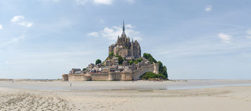 Abbey of Mont St. Michel Stock Photo