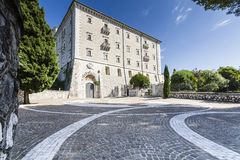 Abbey of Montecassino Royalty Free Stock Photography